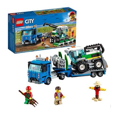 $16.6(原价$29.99)  再降史低价:LEGO City 系列 收割机运输车 60223