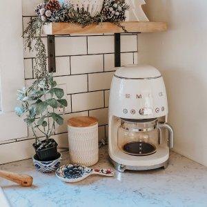 3.8女神节:Smeg 网红厨房家电 始于颜值 忠于性能 热水壶$159