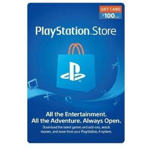 $84.99(原价$100)PlayStation Store 美服$100刀礼卡 数字版