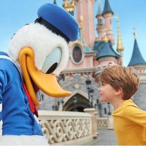 每人€99起!与童年伙伴再相遇巴黎迪士尼乐园已重新开放!门票+四星酒店1晚住宿