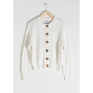 & Other StoriesCable Knit Cardigan