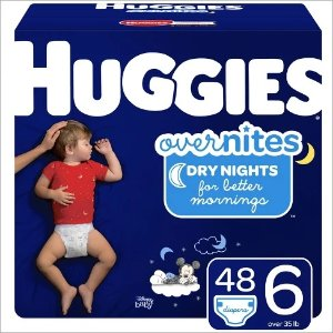 Huggiesbuy 2 get $10 gift cardHuggies Overnites Diapers Super Pack (Select Size)