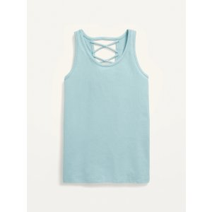 Old NavyFitted Strappy Tank Top for Girls