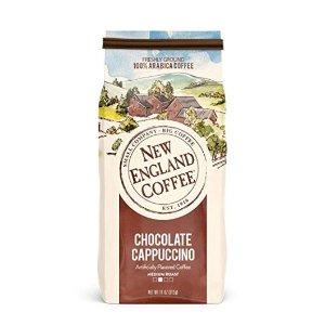 $3.11白菜价:New England 巧克力卡布奇诺口味特调咖啡 11盎司