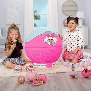 $79.93包邮(原价$145)LOL 巨型惊喜拆拆球造型 玩具房收纳