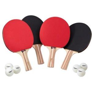 Walmart官网 Viper乒乓球套装 4只球拍+6只球