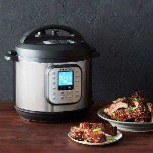 史低价:Instant Pot Duo Nova 7合1升级版多功能电压力锅 6夸脱 $64.99 - 北美省钱快报