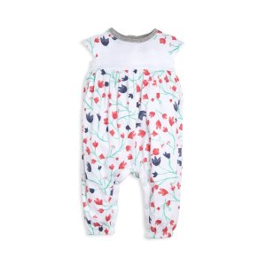 Bethel Woods Floral Print Organic Baby Jumpsuit