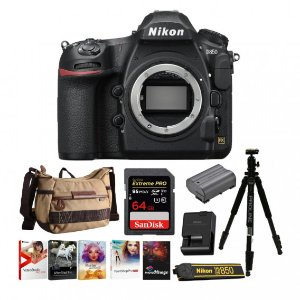 Nikon D850 Full Frame DSLR + Battery + 64GB + Accessories