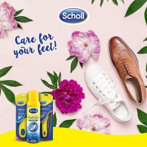 低至5折 £20入修足器闪购:Scholl 精选护足软膏、修足神器、矫正鞋垫特卖