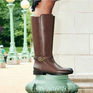 低至5折+额外8折 封面皮靴$140Coach官网 精选鞋靴促销 小白鞋$97.5
