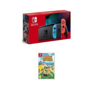 NintendoSwitch红蓝机+动森