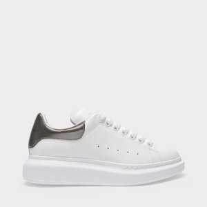 Alexander McQueen金属尾小白鞋
