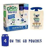 GoGo SqueeZ 酸奶 蓝莓口味 4袋装