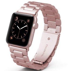 $13.5 多尺寸多色可选PUGO TOP Apple Watch不锈钢表带