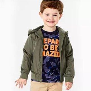 2.25折单件$6.75起Carter's官网 儿童秋冬外套热卖,婴儿到14岁都有