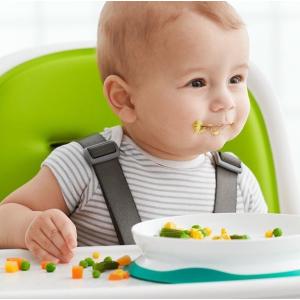 8折 吸盘分隔盘等海量上线补货:OXO tot 宝宝围嘴、餐具等日用品促销 贴心设计好物
