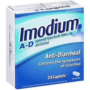Imodium Anti-Diarrheal Loperamide Hydrochloride 24 Caplets