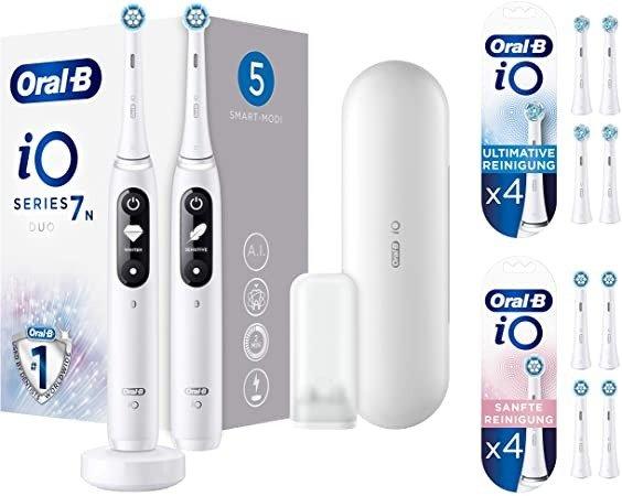 iO 7 云感微磁电动牙刷 1支装+8刷头