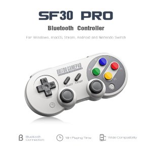 $32.998Bitdo SF30 Pro Wireless Bluetooth Controller with Classic Joystick Gamepad