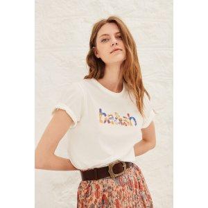 BA&SHNEO. Print T Shirt
