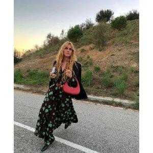 Ganni印花长裙