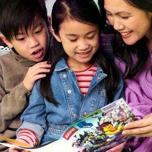 免费订阅 适用于5-9岁儿童LEGO乐高 LIFE儿童杂志 一年四期免费寄到家