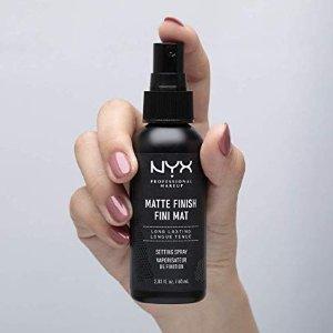 $4.68起(原价$8.5) 近期好价NYX Professional 水光肌定妆喷雾5.5折热卖