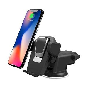 $17.95iOttie Easy One Touch 3 (V2.0) Car Mount Universal Phone Holder for iPhone X 8/8 Plus 7 7 Plus 6s Plus 6s 6 SE Samsung Galaxy S9 S9 Plus S8 Plus S8 Edge S7 S6 Note 8 5