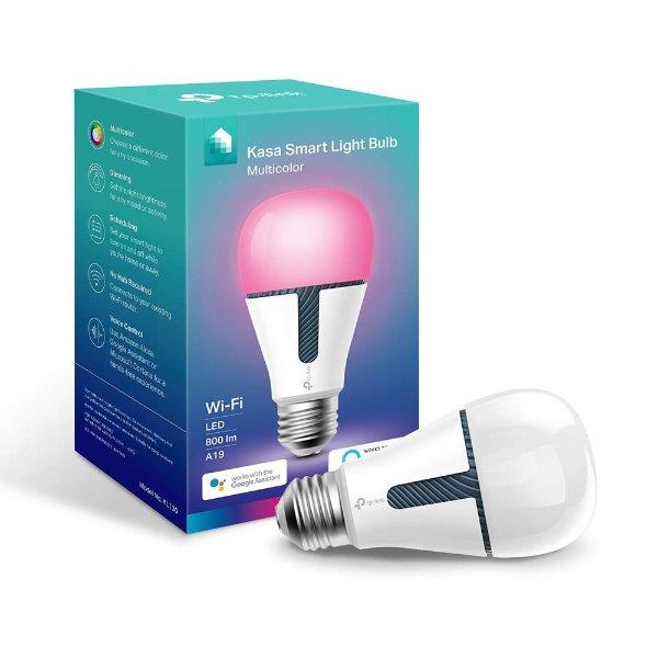 KL130 Kasa 智能灯泡 RGB, 支持Alexa & Google