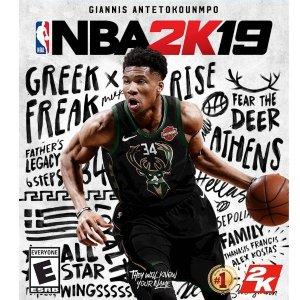 售价$59.99游戏抢鲜看:《NBA 2K19 》全平台 正式发售