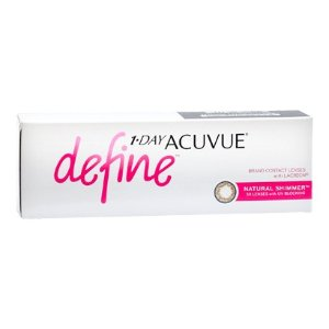 Acuvue1 Day Acuvue Define Shimmer