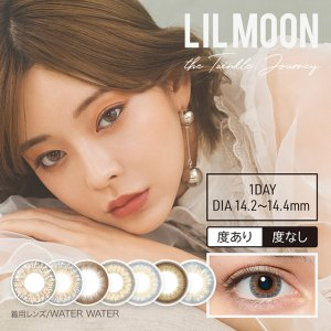 LIL MOON1day [1 Box 10 pcs] / Daily Disposal 1Day Disposable Colored Contact Lens DIA14.4/14.2mm