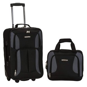 Up to 61% OffRockland Luggage 2 Piece Printed Set Sale @ Amazon.com