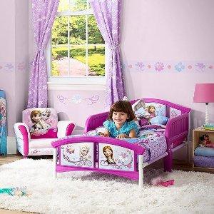 $47.97(原价$79.97)Disney 冰雪奇缘儿童床