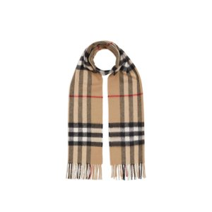 Burberry羊毛围巾