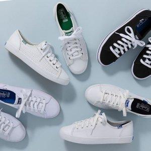 低至5折 $40收Krystal同款Keds 时尚舒适美鞋热卖 简洁大方 舒适百搭