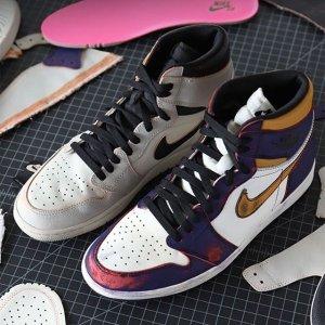 """25日美东10点整 $175+包邮新品上市:Nike SB x Air Jordan 1 """"表里不一"""" 双色刮刮乐"""