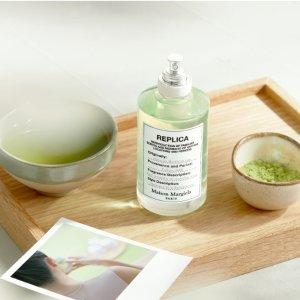 仅€49+满€59就送香水旅行分装瓶上新:Maison Margiela 新香上市 抹茶冥想30ml 抹茶+奶油+白巧