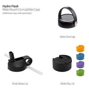 Hydro Flask 三种模式 (吸管/全口/半口) 保温杯 十色可选