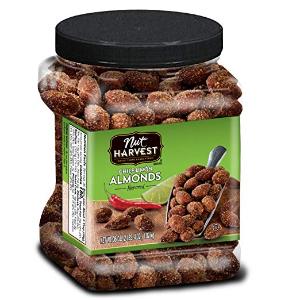 $10.4Nut Harvest 轻烤大杏仁 1.02kg大罐装