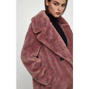 BCBGMAXAZRIAFaux Fur Coat