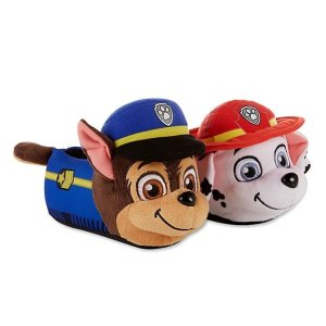Character Character Toddler Boys' PAW Patrol Blue/Red Plush Slipper