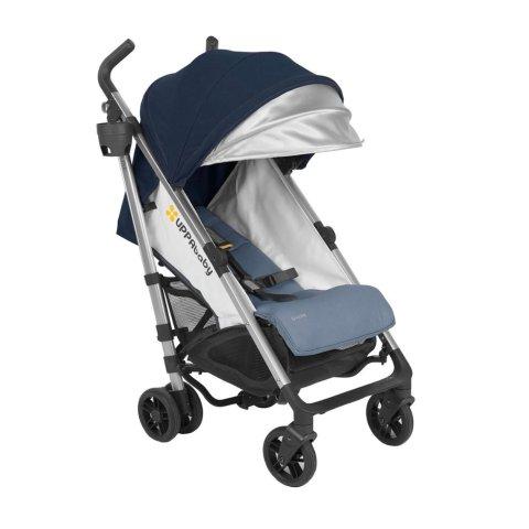 2018 UPPAbaby G-Luxe Stroller -Aidan (Denim/Silver)