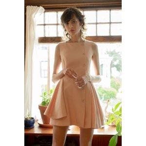 J.INGPink Didi Day Dress