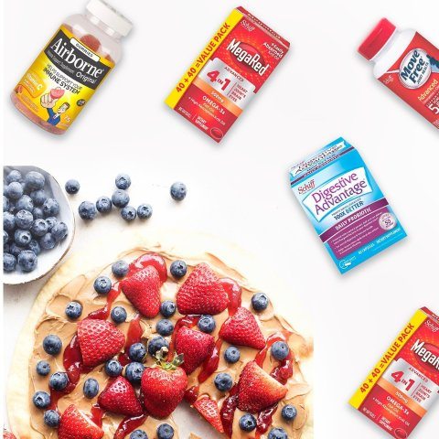 BOGO FREE + Up to $20 OffWalgreens MegaRed & Airborne, Digestive Advantage & Neuriva Sale