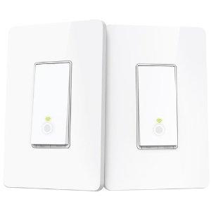 $34.99 (原价$59.99)TP-Link HS210 智能无线开关 3路开关套件