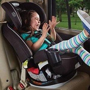 $179.99 近期好价Graco Grows4Me 4合1 双向汽车座椅