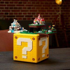 Lego开售!超级玛丽 64™ 问号块 71395 | 超级玛丽