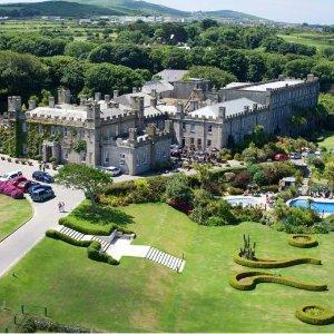 37折 含早餐高尔夫美术馆门票Cornwall 康沃尔奢华城堡酒店 双人间两晚仅£119